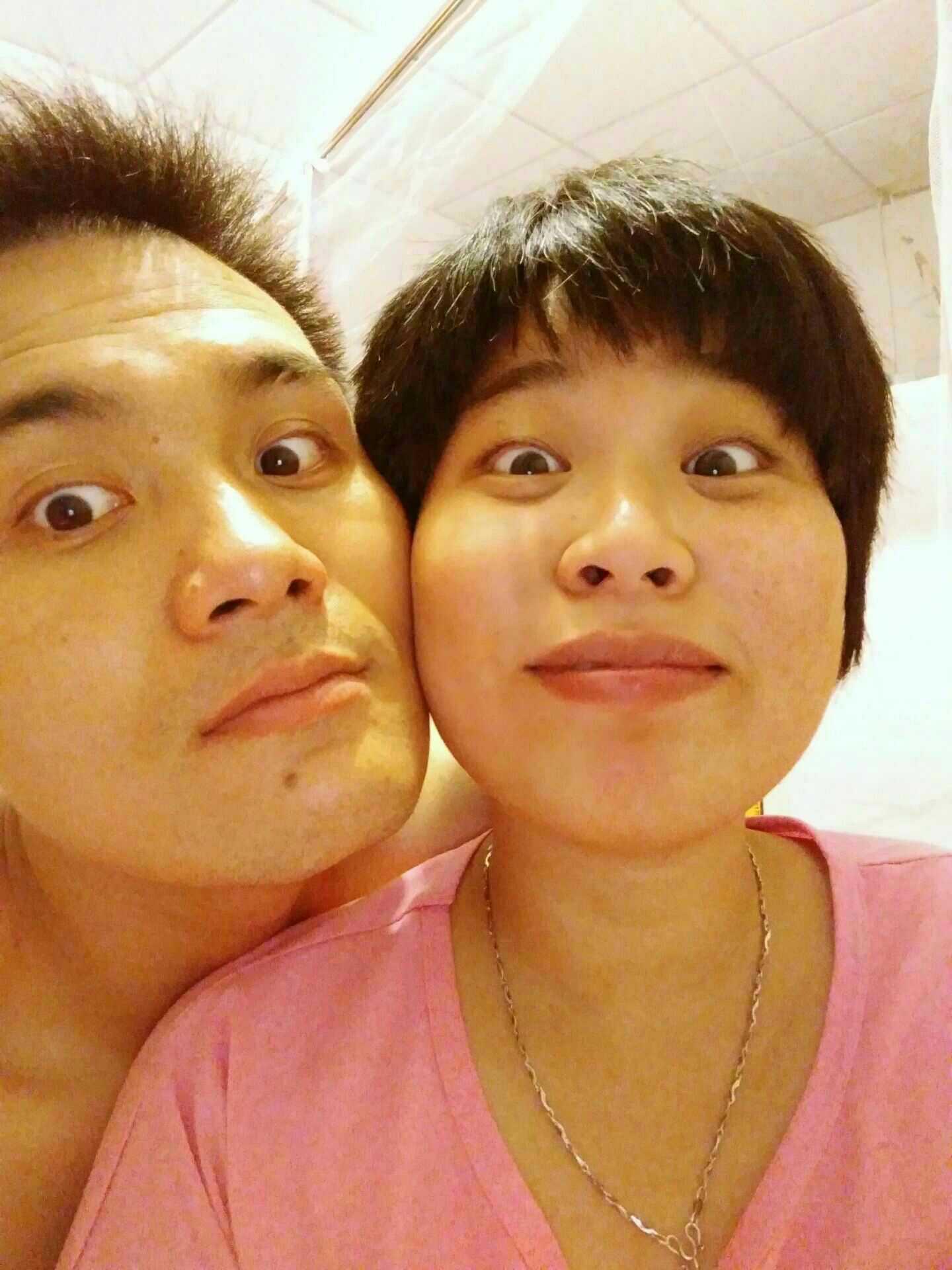 【晒照啦!】表情专属夫妻控制的搞笑图片情绪,你们拥有值得!图片